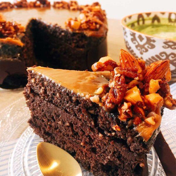 torta choco nueces madame sucree