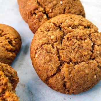Cookies de canela keto madame sucree